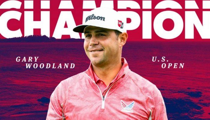 Golfer Gary Woodland Vô Địch Giải Golf US Open 2019