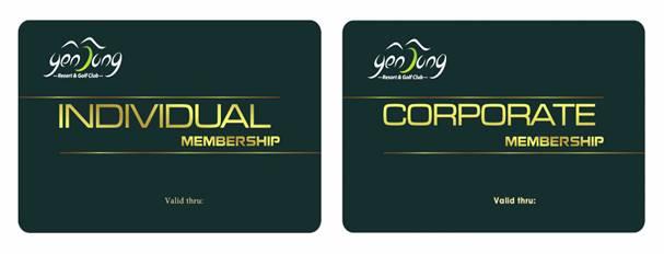 Bảng Giá Thẻ Hội Viên (MemberShip) Chơi Gôn (Golf) Sân Golf Yên Dũng Resort & Golf Club Tại Bắc Giang