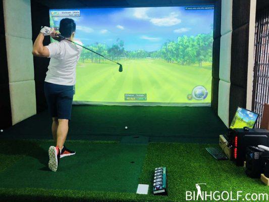 Phòng Tập Gôn (Golf) 3D Là Gì? Lý Do Nên Thi Công Lắp Đặt Hệ Thống Phòng Chơi Golf 3D Trong Nhà?