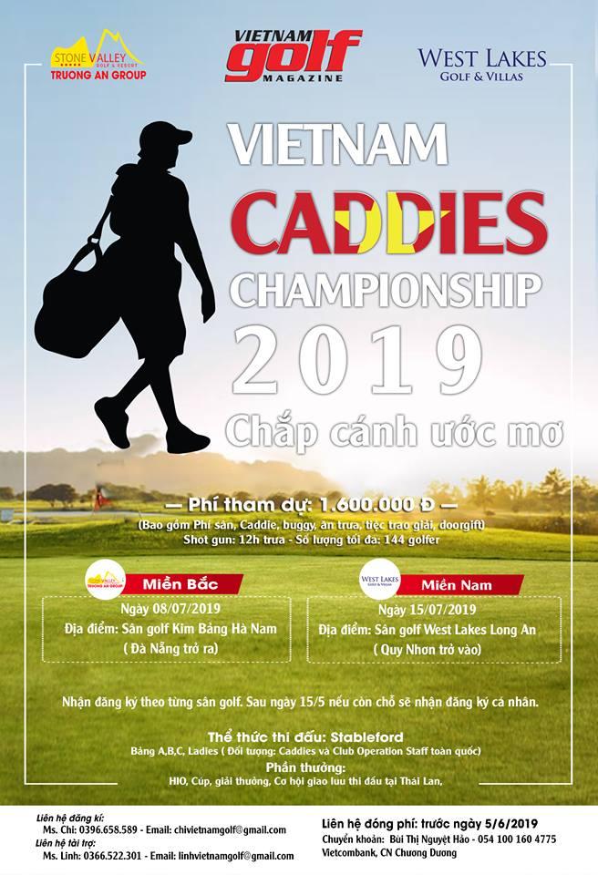 Khởi Tranh Giải Golf 2019 - Giải VIETNAM CADDIES CHAMPIONSHIP 2019