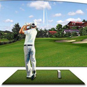 Thi Công Lắp Đặt Hệ Thống Phòng Tập Golf 3D Trong Nhà Ở Hà Nội