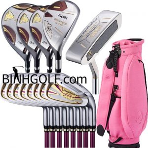 Bộ Gậy Golf Nữ FullSet Honma Beres E-06 3 Sao Ladies