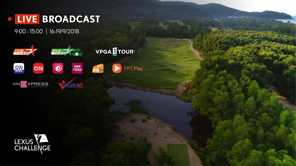 Theo Dõi Trực Tiếp Giải Golf Lexus Challenge 2019