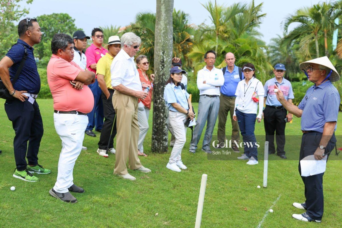 Khoá học luật golf 2019 level 3 TARS khai giảng ở sân golf Tân Sơn Nhất
