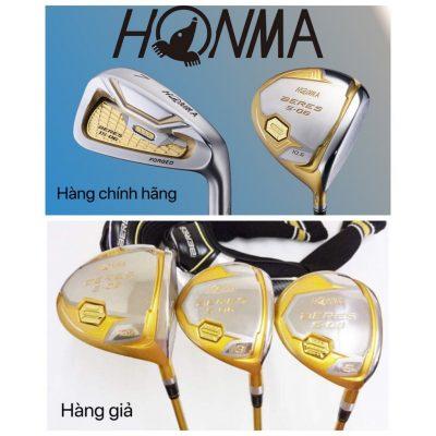Những điều cần biết khi mua các dòng gậy gôn (golf) Honma chính hãng