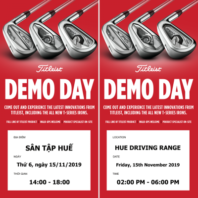 Hãng Bộ Gậy Golf Titleist Tổ Chức Demo Day Tại Sân Tập Golf Huế