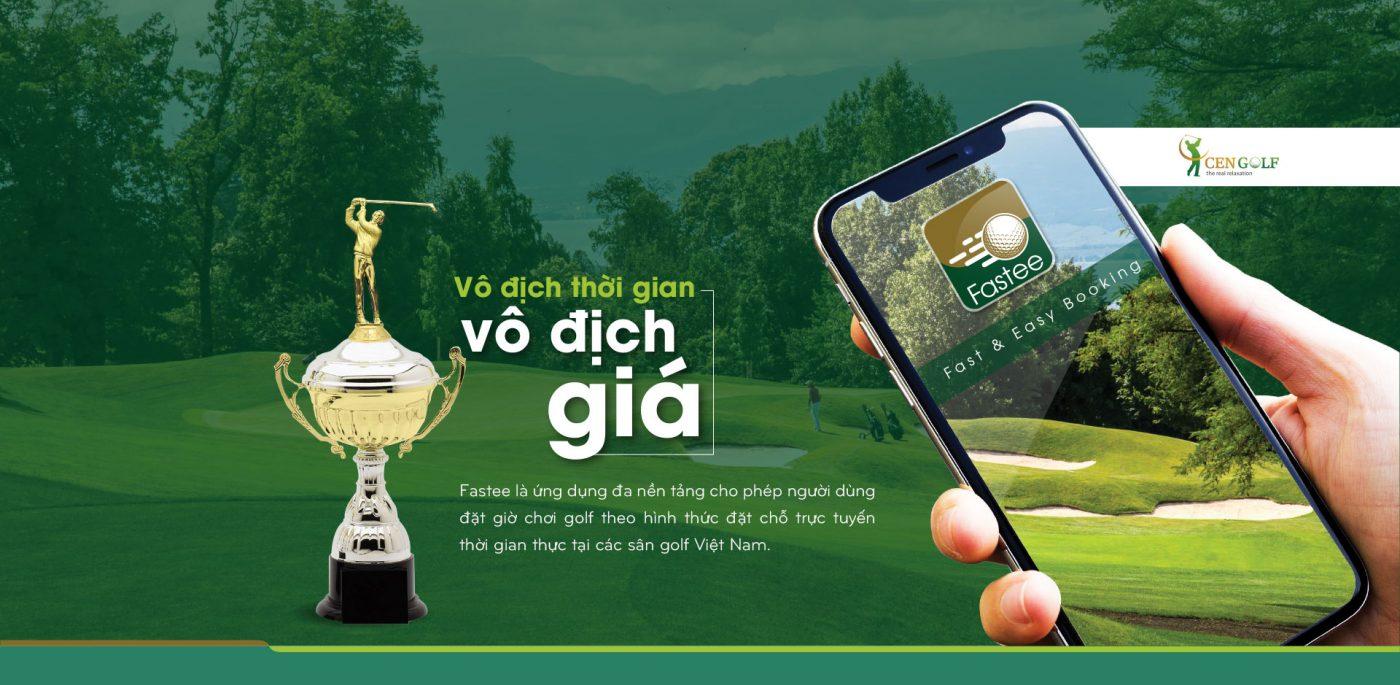 Ứng dụng (App) Đặt (Booking) Sân Gôn (Golf) Trực Tuyến Fastee