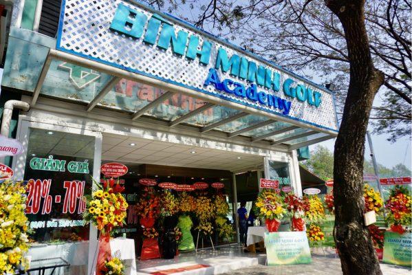 Bình Minh Golf Academy & ProShop Vinh Minh Long Khai Trương Ở Sân Tập Golf Trần Thái