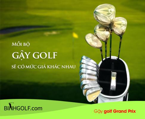 Bộ Gậy Gôn (Golf) Grand Prix Chính Hãng Của Nhật Bao Nhiêu Tiền? Nên Mua Grand Prix Ở Đâu?