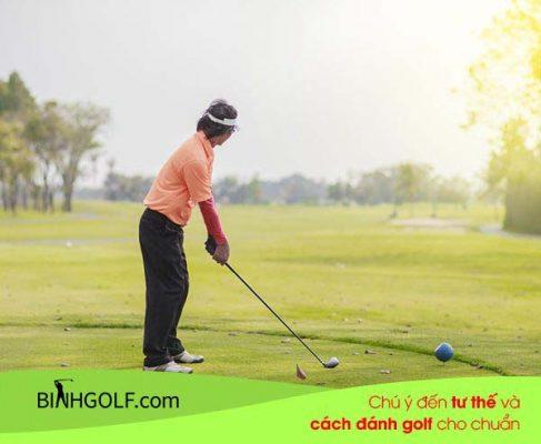 Một số những lưu ý khi sử dụng gậy gôn (golf) Grand Prix cho người mới chơi