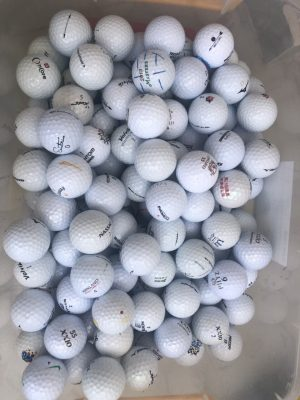 Bóng Golf Cũ Giá Rẻ Ở TP HCM