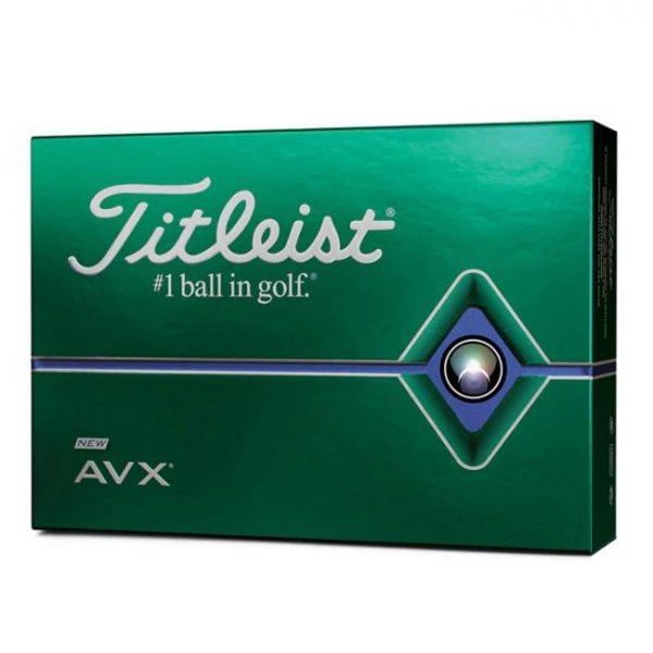 Bóng Gôn (Golf) Titleist AVX Trắng Mới Nhất Năm 2020