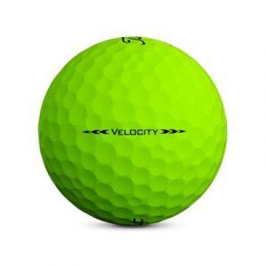 Bóng Gôn (Golf) Titleist VELOCITY Màu Xanh Lá