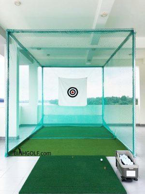 Khung lưới tập golf giá bao nhiêu tiền? Diện tích tối thiểu làm khung lưới tập golf bao nhiêu? I BinhGolf.com