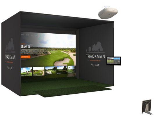 Phòng Tập Chơi Golf 3D (Trackman Simulator) Giá 50.000 USD Của ông Trump tại Nhà Trắng