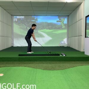 Thi Công Phòng Golf 3D Trong Nhà Gói VIPPRO Thảm Địa Hình (Nhập Khẩu Hàn Quốc)