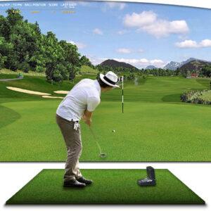 [Golf 3D] - Thi Công Phòng Golf 3D Gói Bình Dân 6 Trong 1 I BinhGolf.com