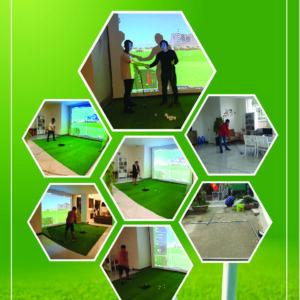 Thi Công Phòng Golf 3D Gói Bình Dân 6 Trong 1