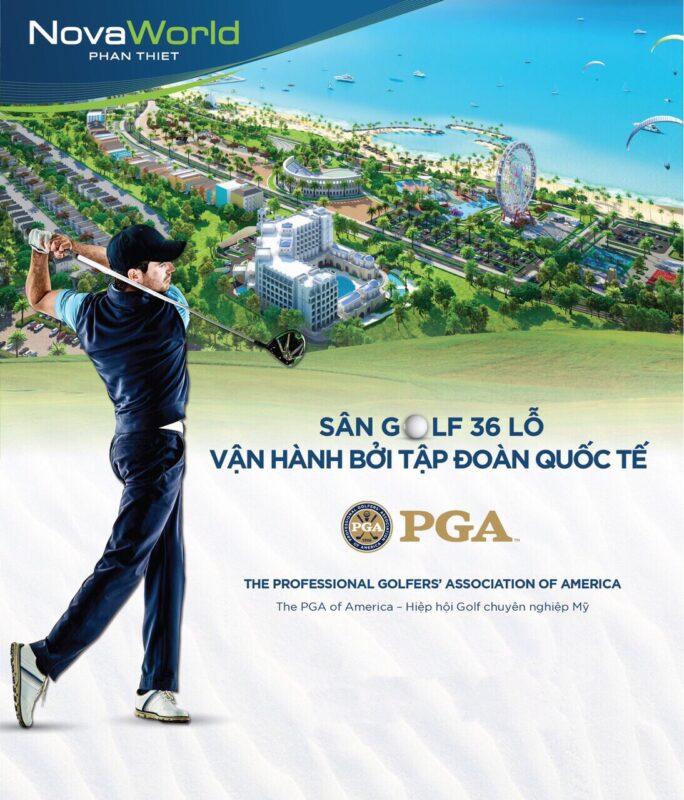 Sân Gôn (Golf) Novaland Tại Phan Thiết ( Bình Thuận)