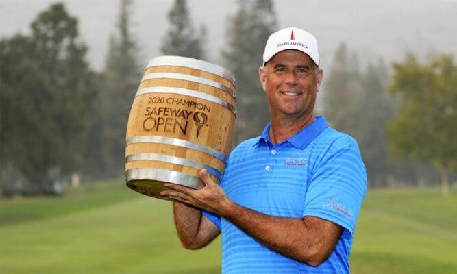 Golfer Stewart Cink thắng Safeway Open