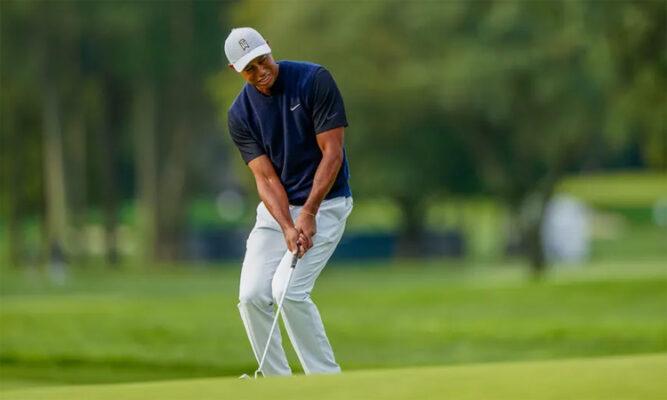 Tiger Woods khởi đầu trầy trật ở Giải Gôn (Golf) US Open 2020