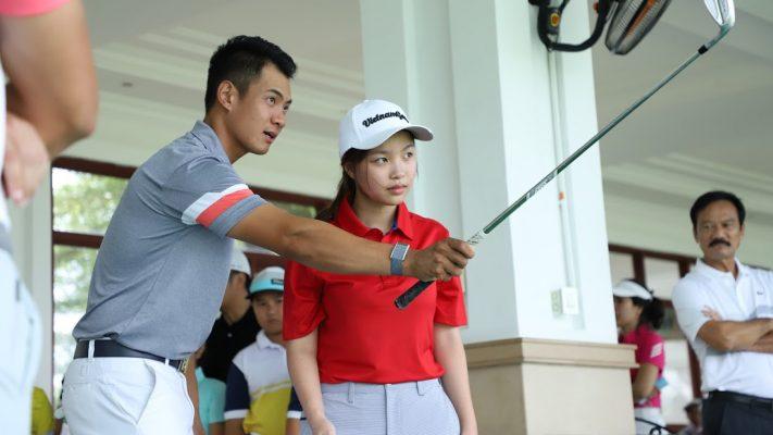 """Tuyển Thủ Quốc Gia Golfer Trương Chí Quân: """"một vòng thi đấu được nhiều kinh nghiệm hơn 1 tuần đánh tập"""""""